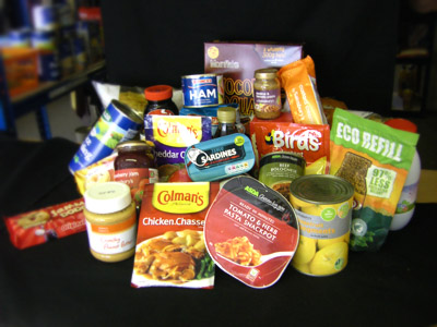 Basics Bank Food Items